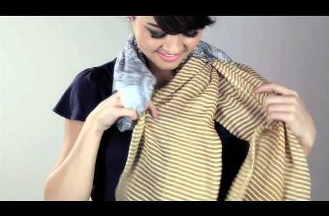 Cost Plus World Market How To Tie A Scarf The Criss