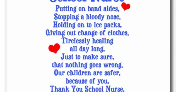 Happy School Nurse Day Don T Forget To Take Time And Say