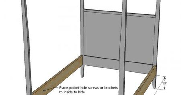 how to build a canopy bed