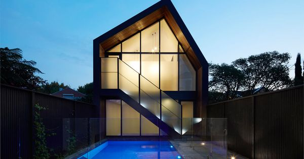 Canterbury-Rd-House-b.e-architecture-1 | Architecture, Facades and  Architecture interiors