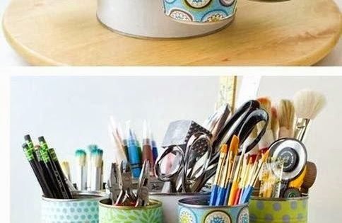 30 beautiful things to make out of recycled materials for Things to make out of recycled stuff
