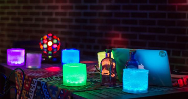 Luci Color Multi Color Led Color Party Lights
