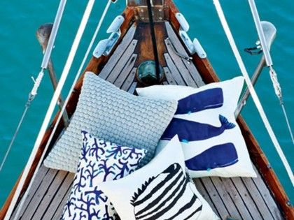 Nautical blues make me want to sail away