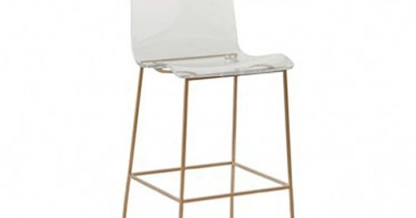 Gabby Acrylic King Bar Stool Furniture Pinterest