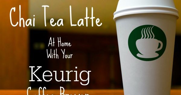 Diy starbucks tazo chai tea latte with your keurig recipe tazo