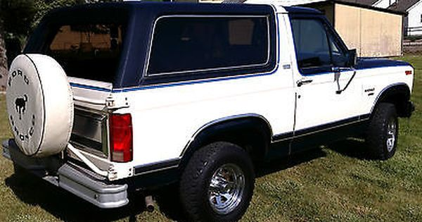 1982 Ford Bronco Xlt Lariat 79178 Miles Ford Bronco Bronco