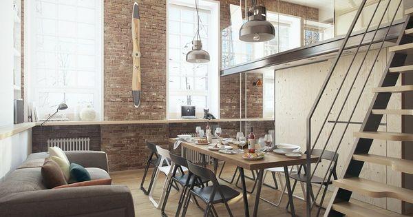 Un peque o loft de 35 metros cuadrados peque o loft for Loft de 50 metros cuadrados