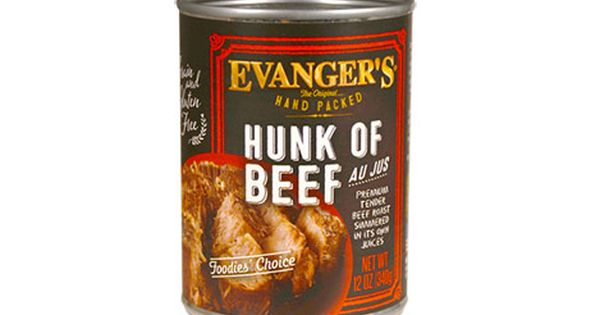 Evanger S Dog Cat Food Recalls Select Lots Of Hunk Of Beef