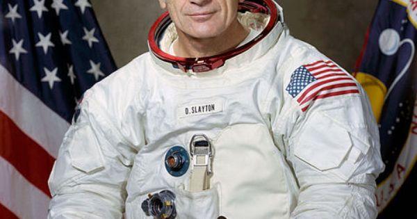 "Astronaut Donald K. ""Deke"" Slayton. One of the original 7 ..."