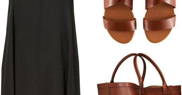 dress shoes bag black v neck flowy sandals black dress brown leather