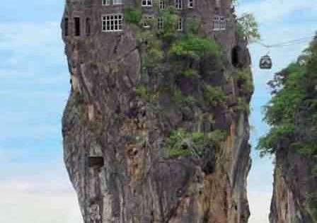 amazing rock house