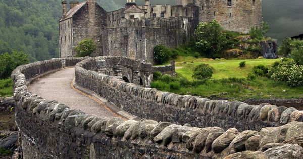 Eilean Donan Castle, Scotland The main Witch in my nano novel lives