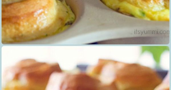 Dubliner Quiche Crescent Cups | Recipe | Quiche, Crescents and Cups