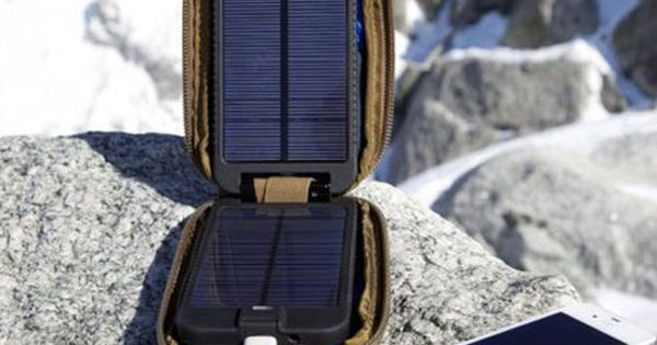 Solarmonkey Adventurer Solar Charger Takes You Far Off Grid. http://atechpoint.com/ tech gadgets