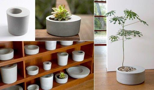 3 Samples Vietnam Large Lightweight Concrete Planters Manufacturer For Garden Concrete Planters Concrete Pots Concrete Diy