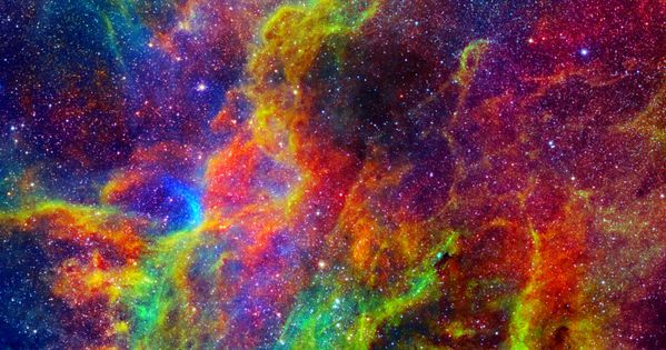 neon nebula in space - photo #11