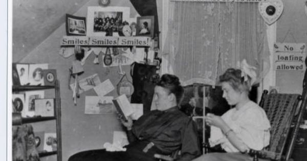Hanging In The Dorm At Lawrence Hall In 1907 From The St