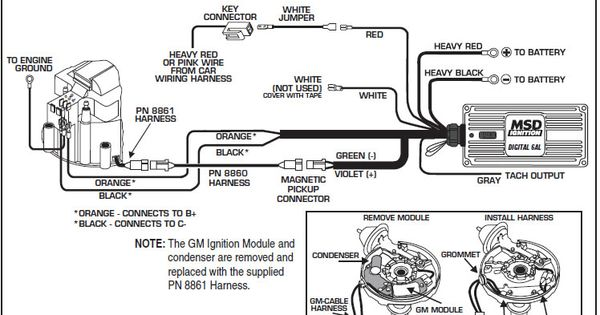 Image Result For Gm Hei Distributor External Coil Diagram Wire