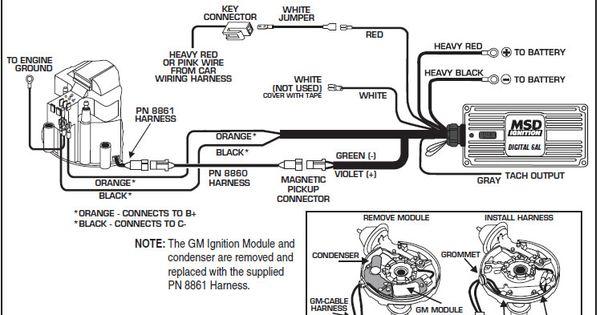 Msd Ignition 6Al Wiring Diagram Database