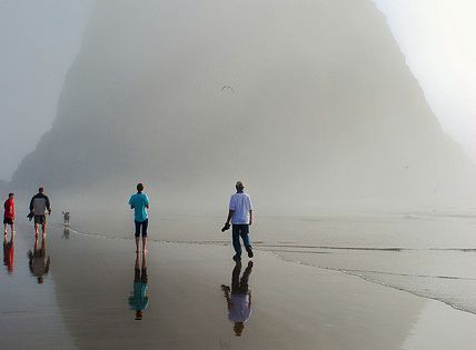 Haystack Rock, Canon Beach, Oregon Coast