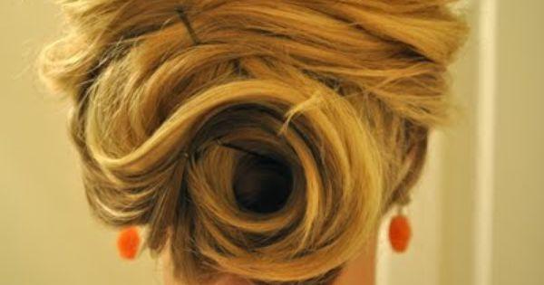 easy updo! - Best Hair Tutorials!