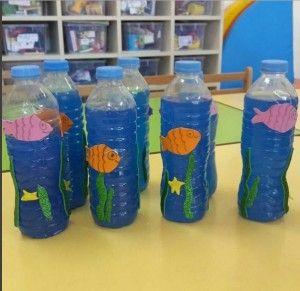 Bottle Aquarium Craft Aquarium Craft Kids Aquarium Preschool