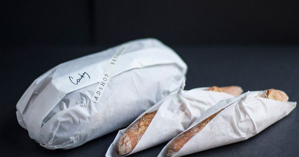 The simplicity of this Breadshop packaging by NAAUAO is great