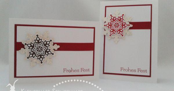 Stampin up festive flurry kleiner wort schatz weihnachten for Cama 0 90 x 1 90