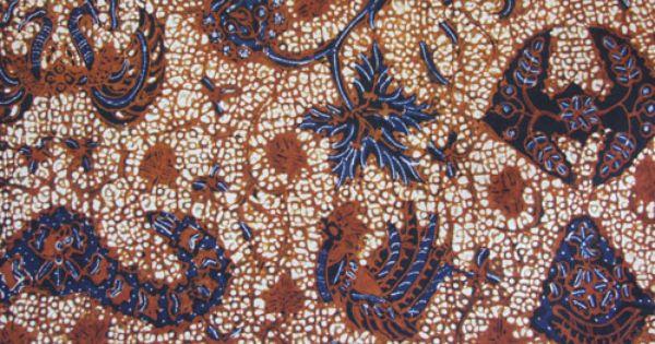 Wahyu Tumurun | Batik tulis Indonesia | Pinterest