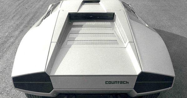 Masterpiece: Lamborghini Countach 1971.