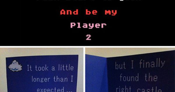 funny video game valentines