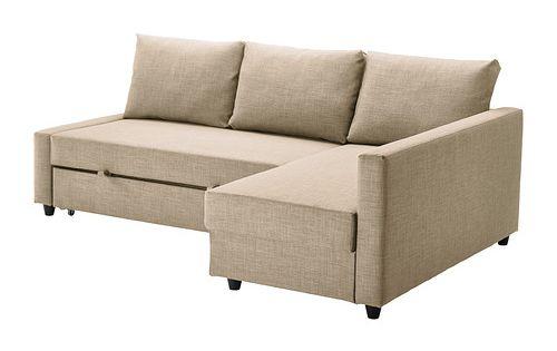 STOCKSUND Cover For Ottoman Ljungen Gray Ikea Sofa