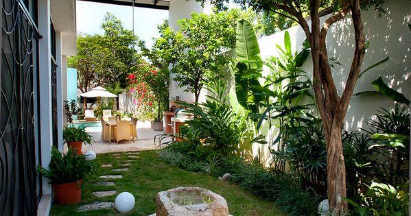 Fotos de jardines de estilo moderno casa cp78 for Casa de jardin varca goa