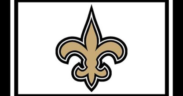 New Orleans Saints Team Logo Area Rug Nfl Area Rugs Pinterest Team Logo