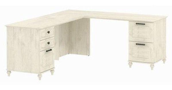 Kathy Ireland Home By Bush Furniture Volcano Dusk L Shape Desk