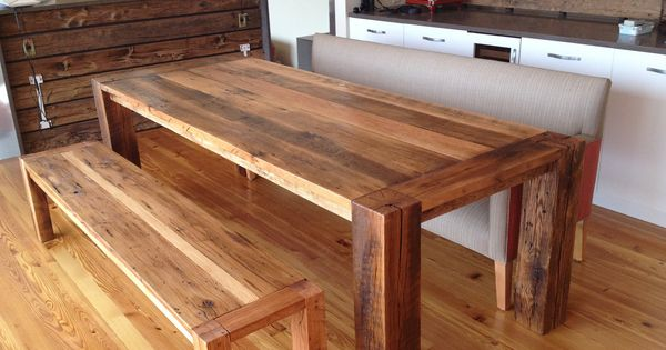 making your own table top dining table reclaimed wood