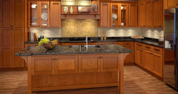 Spice Maple Cabinets Are Built From Maple One Of The