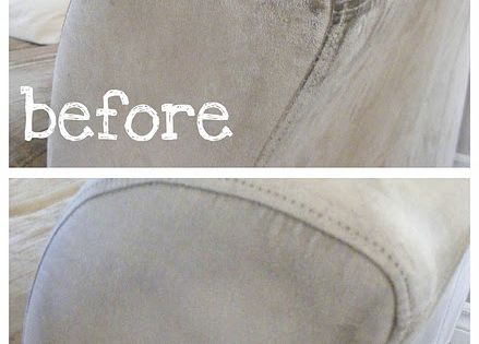 The Complete Guide to Imperfect Homemaking: How to Clean a Microfiber Sofa.