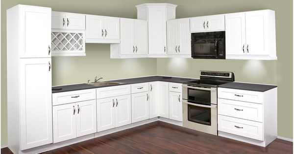 Opting For Cheap Kitchen Cabinet Doors White Shaker Cheap Kitchen For The Home Pinterest