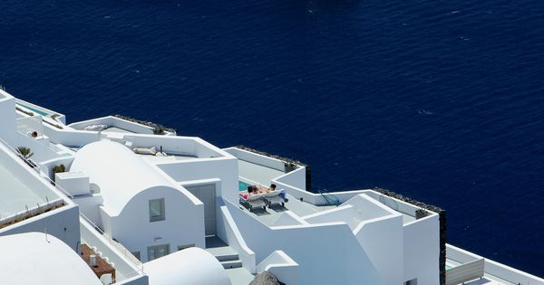 Ohhh, I DIE! On my bucket list. :Santorini, Greece