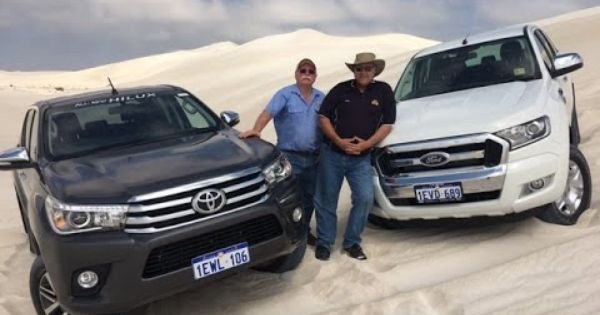 2016 Toyota Hilux Vs Ford Ranger Youtube