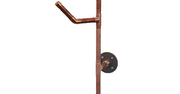 Small Copper Tubing Sizes: HANG IT Coat Rack- 6 Series Made Of 100% Copper Pipe Size