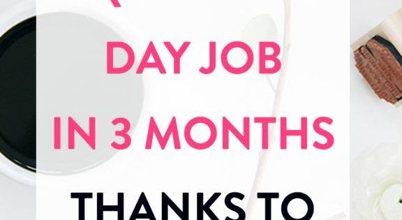 this single mom quit her day job in 3 months thanks to freelance writing dream big and third. Black Bedroom Furniture Sets. Home Design Ideas