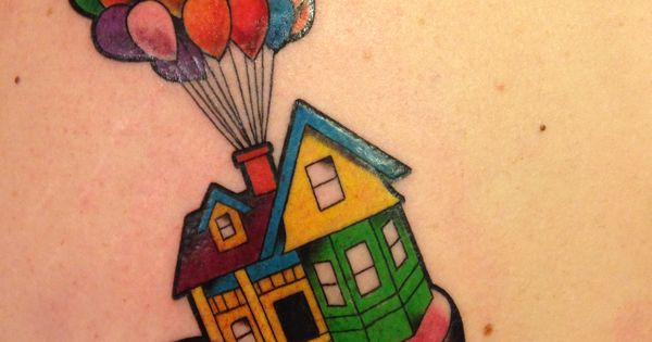 I finally got my up tattoo adventure is out there for Adventure is out there tattoo