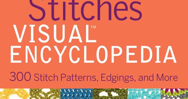 Crochet Stitch Encyclopedia Online : Crochet stitches, Stitches and Crochet on Pinterest