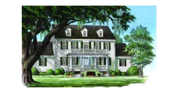 House Plan Description This 3471 Square Feet Southern