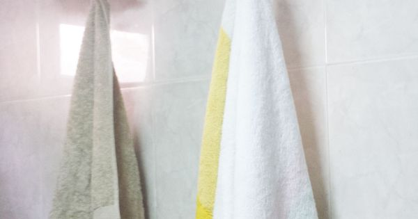 Perchero rama para las toallas del ba o deco diy del for Colgar toallas ducha