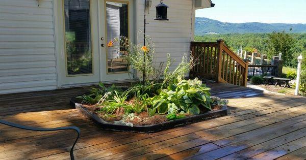 Old Hot Tub Repurposed Kitchen Garden Garden
