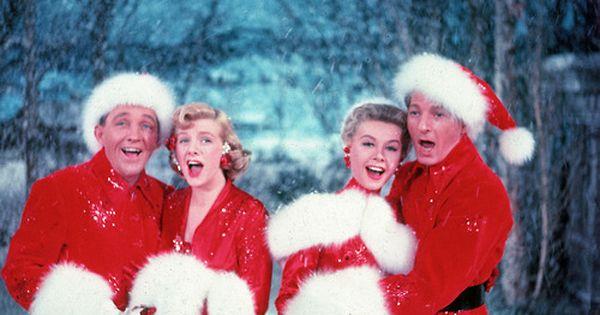 Bing Crosby, Rosemary Clooney, Vera Ellen and Danny Kaye in 'White Christmas',