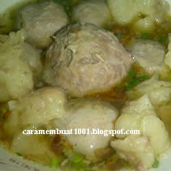 Resep Kuah Bakso Indonesian Food Cooking Food